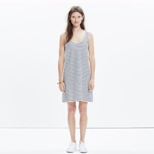 MADEWELL Striped Knit Tank Dress